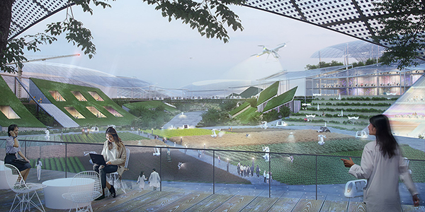 MVRDV alista Smart City en área rural de China