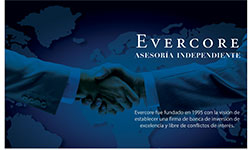 Evercore asesoria independiente - Evercore