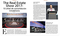 The Real Estate Show 2017:  15 años de consolidación inmobiliaria - Real Estate Market & Lifestyle