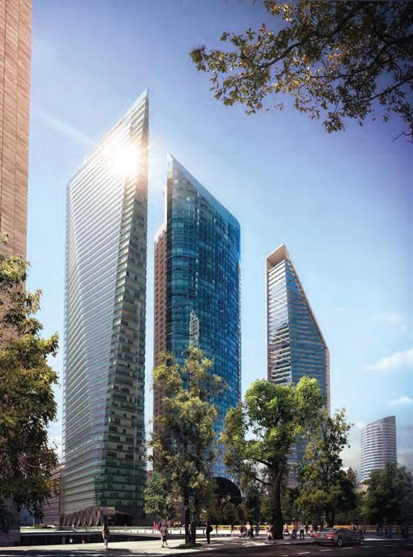 Real Estate Market & Lifestyle,Real Estate,Perspectivas 2019,Absorción histórica de espacios corporativos: 750,000 m2,Luis G. Méndez Trillo., Chapultepec Uno, en Paseo de la Reforma.
