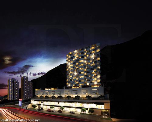 """""""Nación"""" Complejo de usos mixtos en Valle Oriente y """"Nouparc""""<br />Centro de negocios en Tecnologías de Información Inteligente en Monterrey, N.L"""