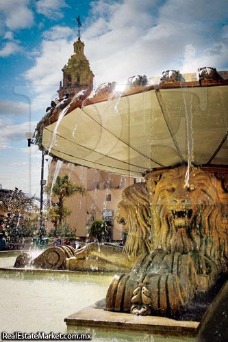 Fuente Leones, León, Guanajuato.