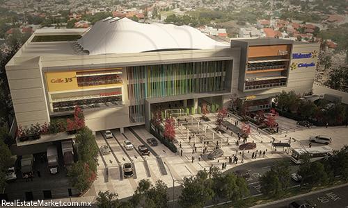 El centro comercial Fortuna tendrá una construcción total de 150,000 m2.