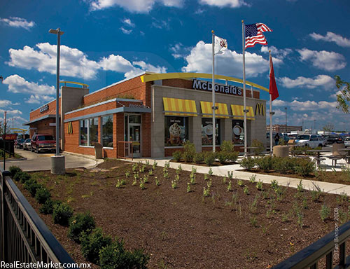 McDonald´s Chicago-Ashland.