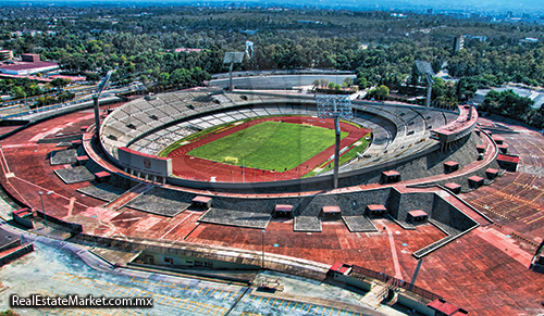 Estadio Olímpico. Ciudad Universitaria