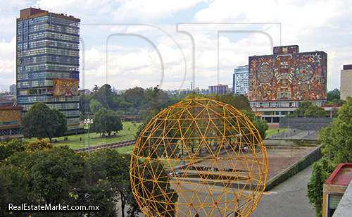 Vista del Campus de Ciudad Universitaria