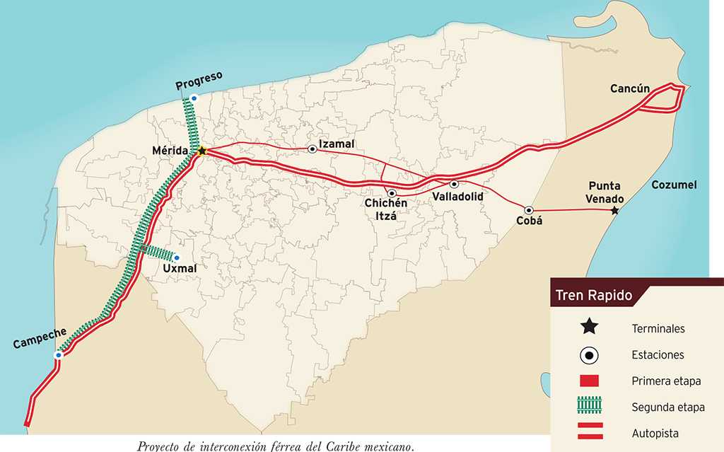 Tren Transpeninsular Comunicacin con el sureste